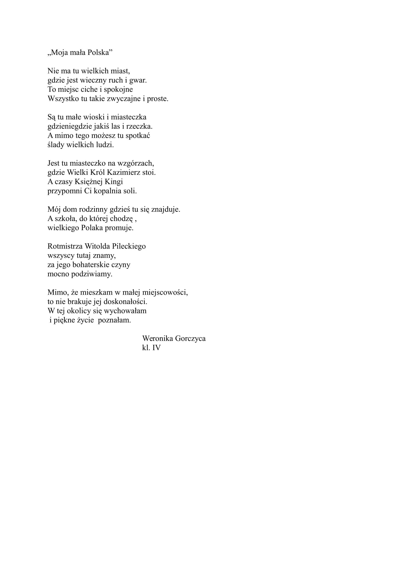 Moja mała Polska - Weronika Gorczyca-1