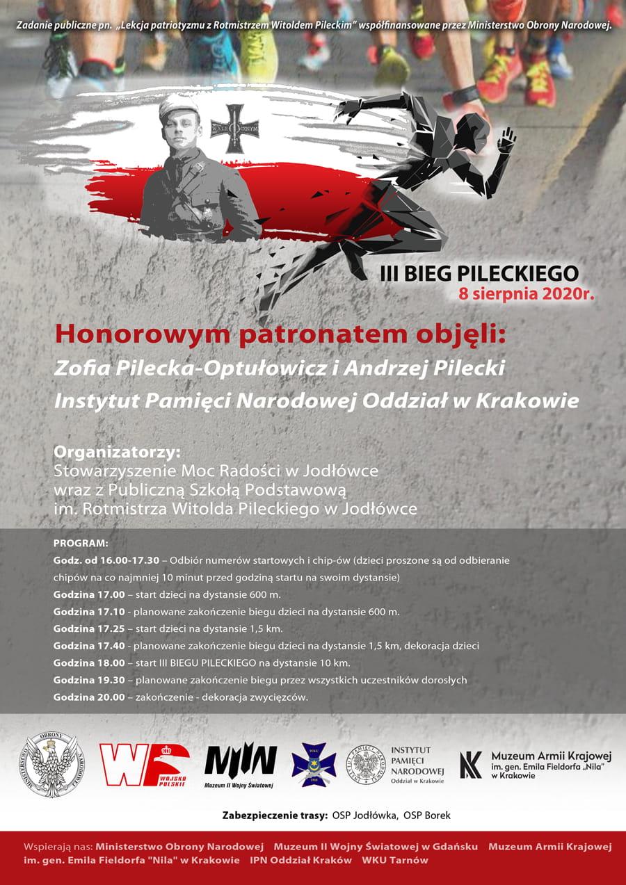 Pilecki III BIEG 2020 Plakat-1